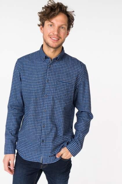 Рубашка мужская Marc O'Polo 731642482/T88 синяя M
