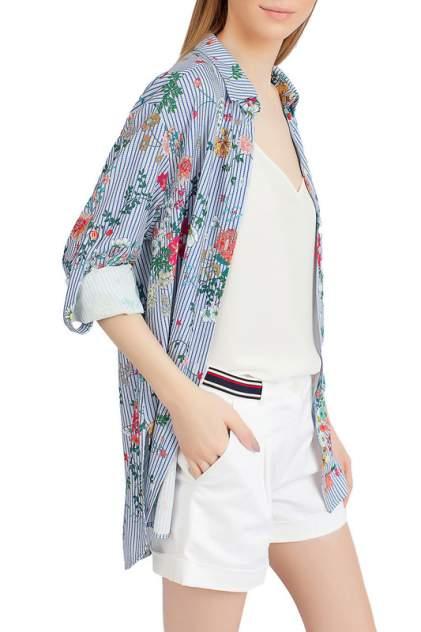 Блуза женская SERGINNETTI 4-1598-4118-60 синяя 46 RU