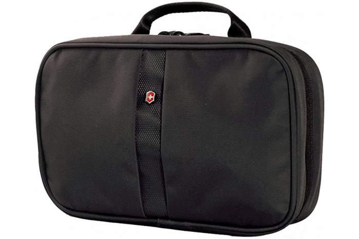 Несессер мужской Victorinox Zip-Around Travel Kit черный