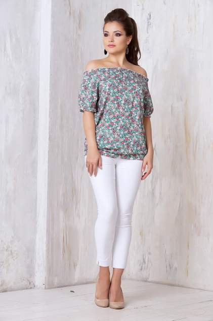 Блуза женская VAY 3267 зеленая 44 RU