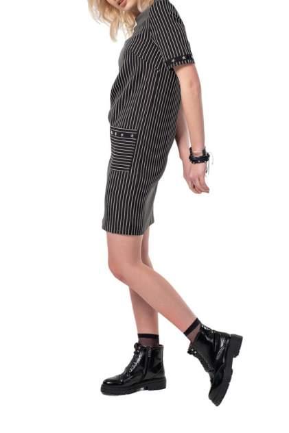 Платье женское Fly 871-01 черное 42 RU