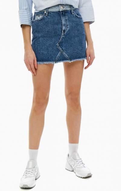 Юбка женская Tommy Jeans синяя 42