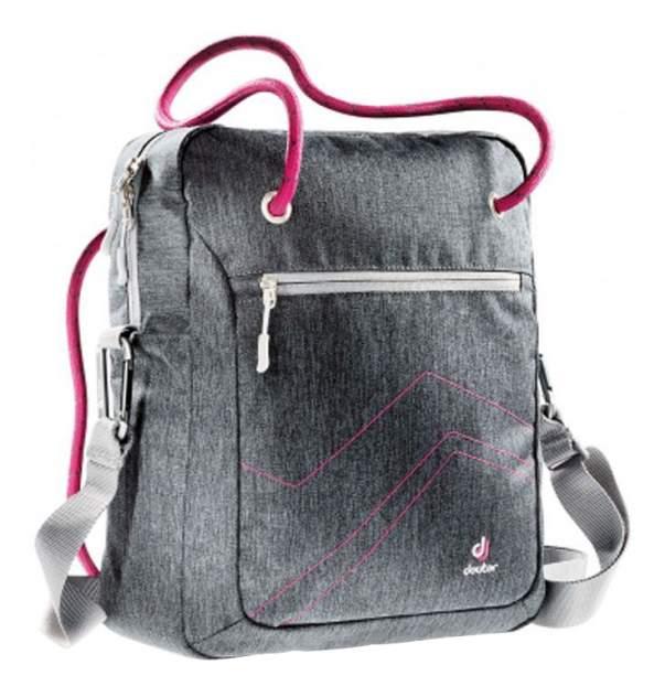 Сумка детская Deuter с отделением для ноутбука Pannier 14 л серый-розовый