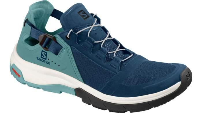 Кроссовки Salomon Techamphibian 4, hydro/nile blue/poseidon, 6 UK