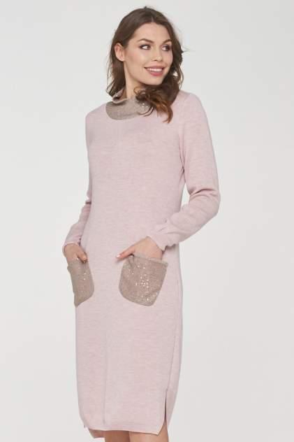Платье женское VAY 182-2369 бежевое 54 RU