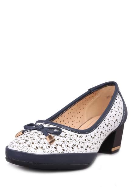 Туфли женские T.Taccardi 27306460 белые/синие 36 RU