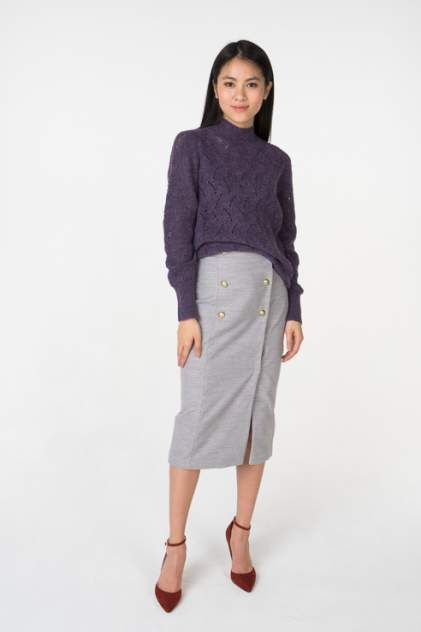 Юбка женская T-Skirt AW18-02-0525-FS серая 42 RU