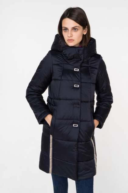 Пуховик-пальто женский ElectraStyle 3У-6031/3-258 синий 44 RU