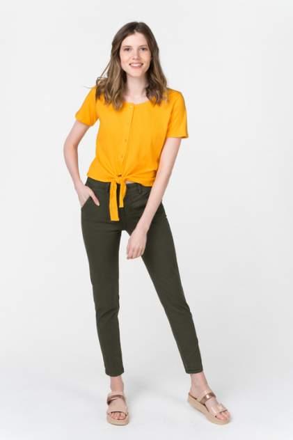 Женская блуза Blend She 20203358, оранжевый