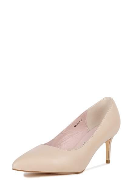 Туфли женские Alessio Nesca 710019045 бежевые 36 RU