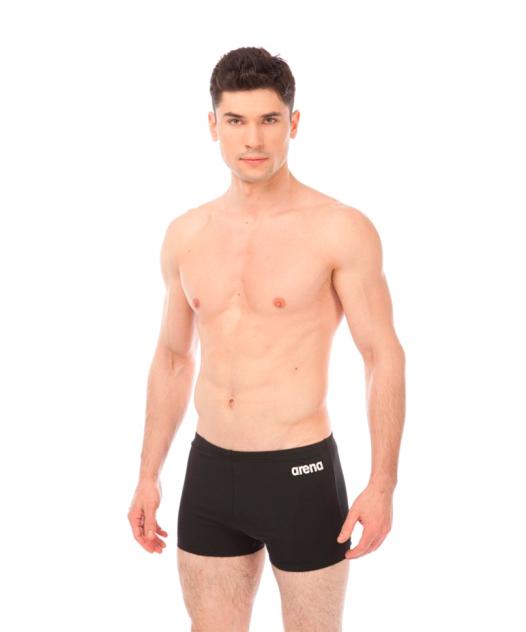 Плавки Arena Solid Short, black/white, 85 FR