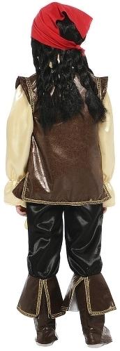 Карнавальный костюм Батик Джек Воробей, цв. коричневый р.122