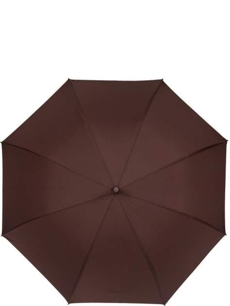 Зонт-трость женский автоматический Eleganzza 01-00026848 зеленый/коричневый/разноцветный