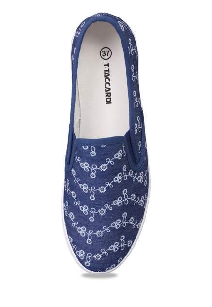 Кеды женские T.Taccardi 710018226 синие 36 RU