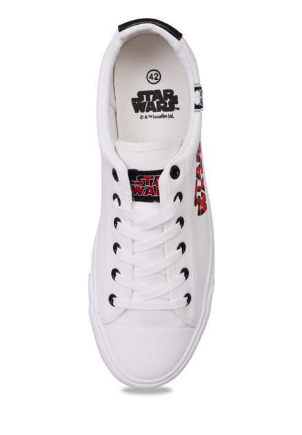 Кеды мужские Star Wars 03906140 белые 42 RU