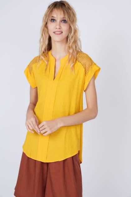 Блуза женская ZARINA 9225123323 желтая 42 RU