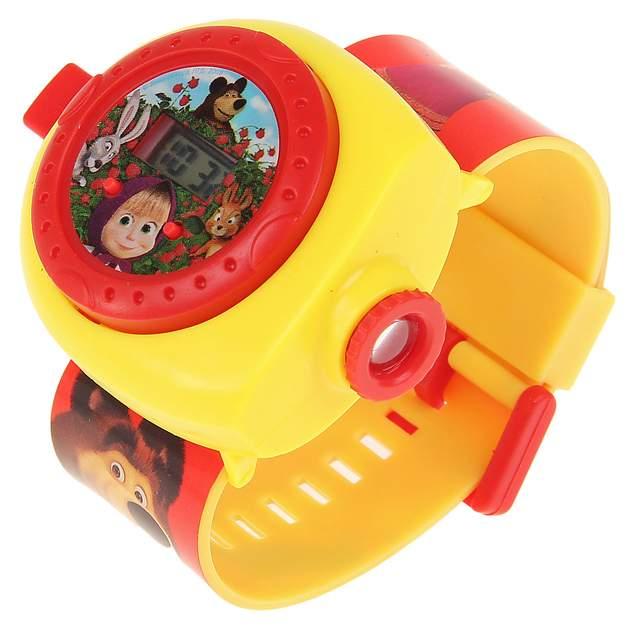 Интерактивная игрушка УМКА Часы Маша и медведь с проекцией