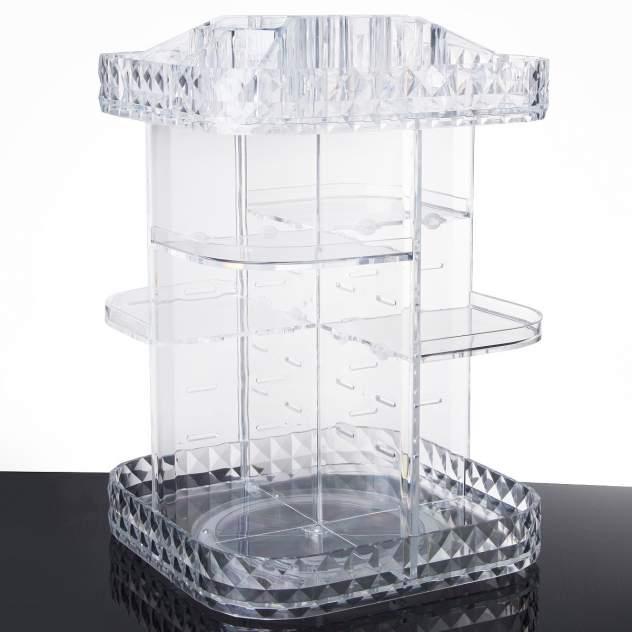 Вращающийся акриловый органайзер для косметики Homsu Diamond