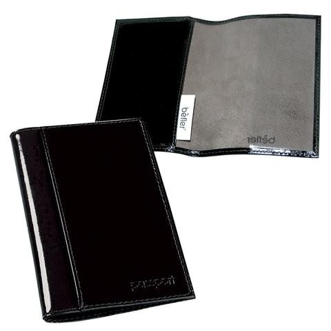 Обложка для паспорта мужская Befler 235994 Classic черная