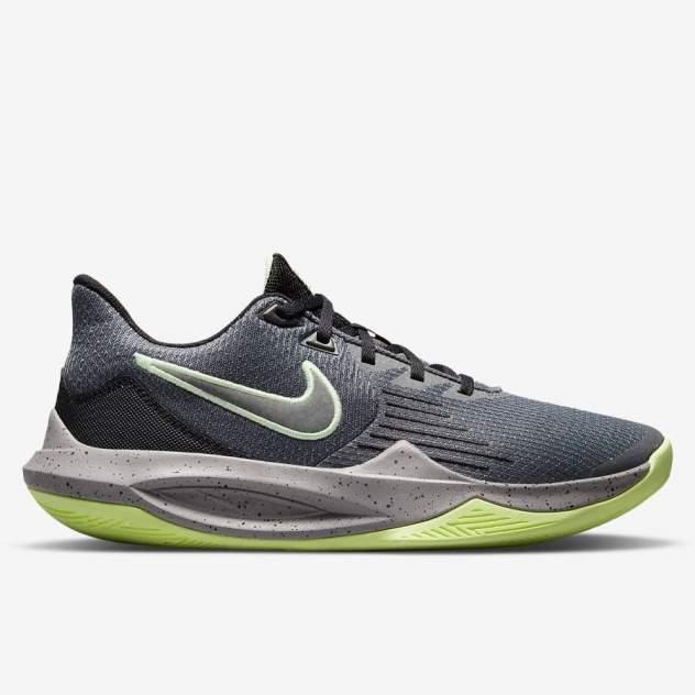 Кроссовки мужские Nike Precision CW3403, серый