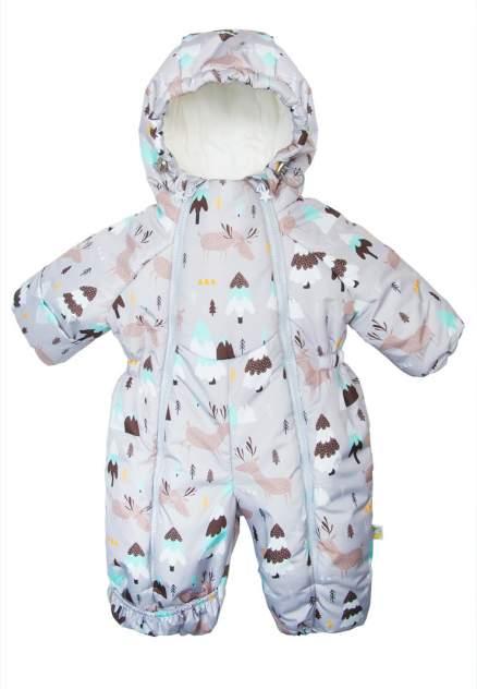 Комбинезон детский Сонный гномик, цв.серый