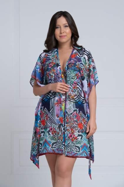 Пляжная блуза женская Laete 60375-2 разноцветная M/L