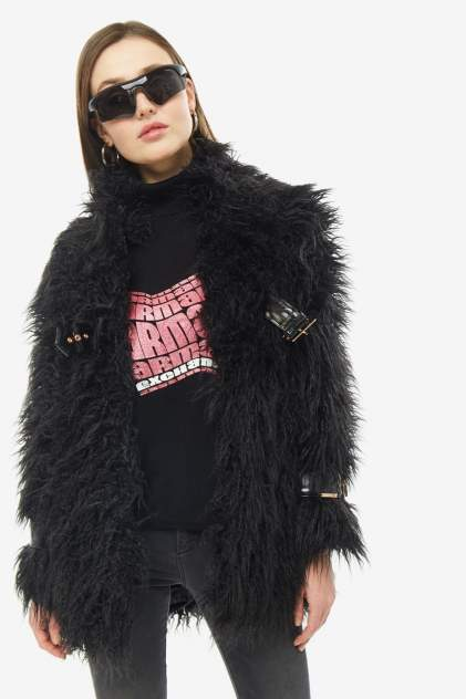 Женская шуба Armani Exchange 6GYK65 YNSCZ 1200, черный