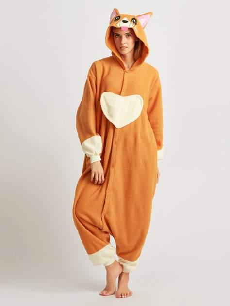 Кигуруми BearWear Собака Корги, оранжевый