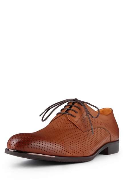 Туфли мужские Pierre Cardin 03806120, коричневый