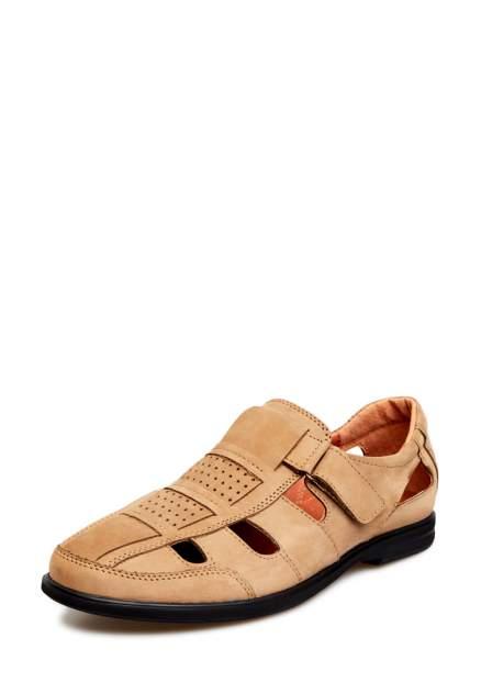 Сандалии мужские Alessio Nesca 32606530 коричневые 41 RU