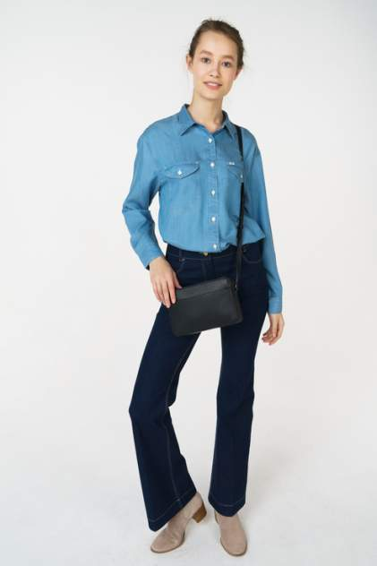 Рубашка женская Lee L45OHACO синяя M
