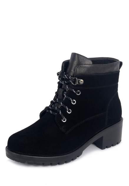 Ботинки женские Kari 710018616 черные 36 RU