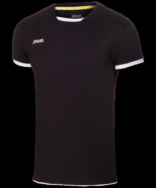 Футболка Jogel JVT-1030-061, черный/белый, L INT