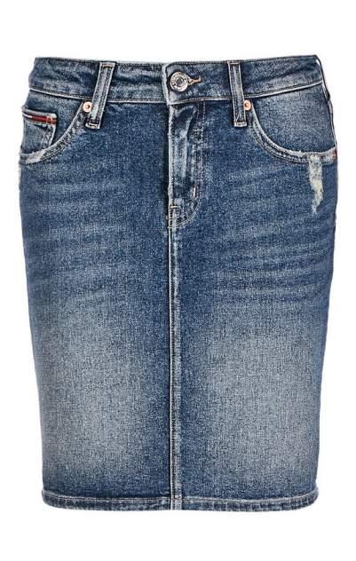 Юбка женская Tommy Jeans синяя 40