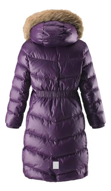 Пальто Reima пуховое для девочки Satu фиолетовое р.116