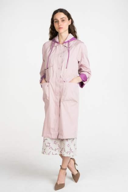 Тренч женский ElectraStyle 4-9030-295 розовый 46 RU