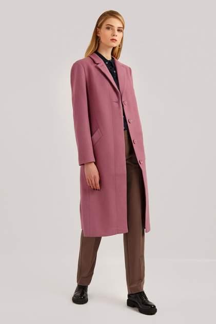 Пальто женское Finn Flare B19-11086 фиолетовое L