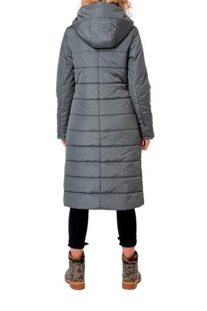 Пуховик-пальто женский DizzyWay 19416 зеленый 46 RU