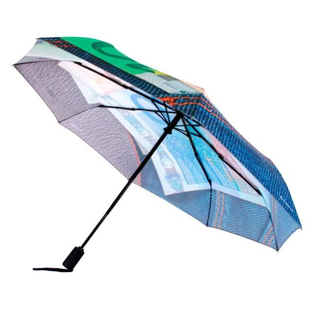 Зонт складной женский автоматический Flioraj 014-30 FJ синий