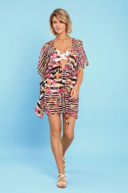 Пляжная блуза женская Laete 60375-3 разноцветная M/L