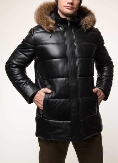 Мужская кожаная куртка Alfafur КП-VV-19/1, черный