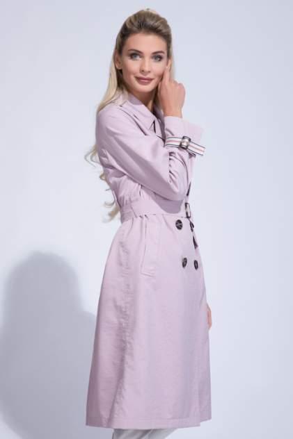 Тренч женский ElectraStyle 5-9036-296 розовый 46 RU