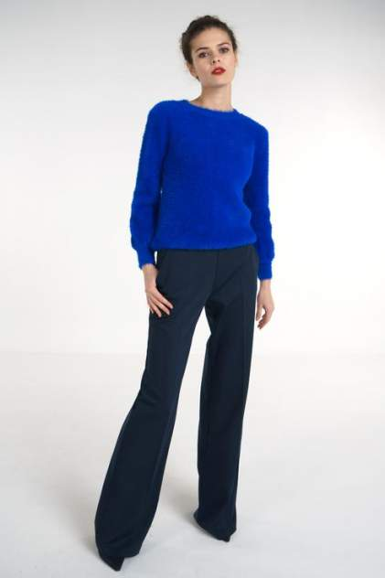 Брюки женские LA VIDA RICA P61024 синие 48 RU
