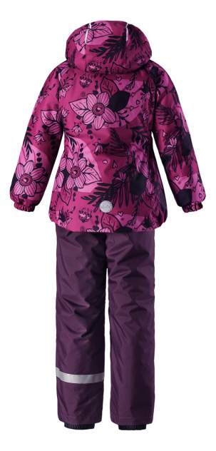 Комплект верхней одежды Lassie, цв. розовый; фиолетовый р. 92