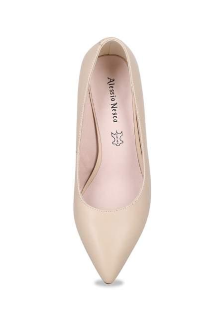 Туфли женские Alessio Nesca 710019045 бежевые 38 RU