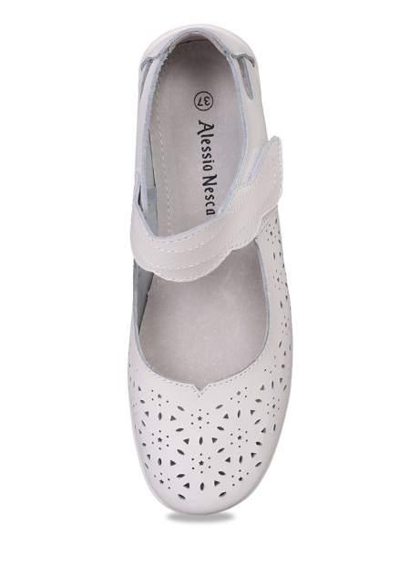 Туфли женские Alessio Nesca 710018021 белые 36 RU
