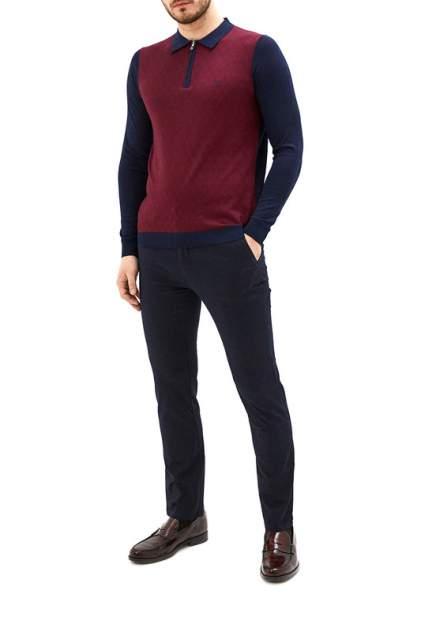 Рубашка мужская La Biali 5107/120 БОРДОВая красная M