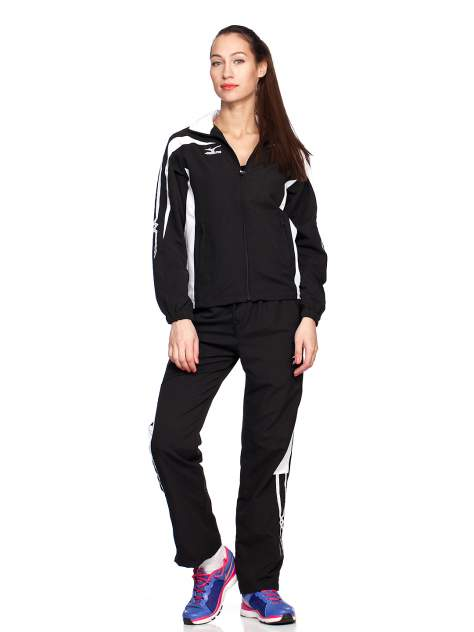 Спортивный костюм Mizuno Tracksuit Stardom SS13, black white, S INT