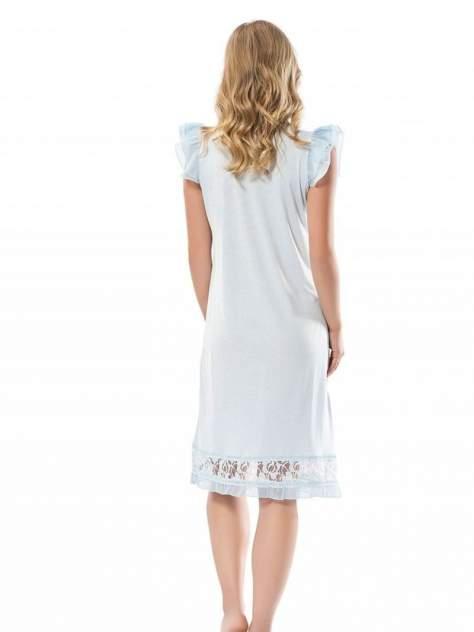 Ночная сорочка женская Turen 3131-1 голубая S