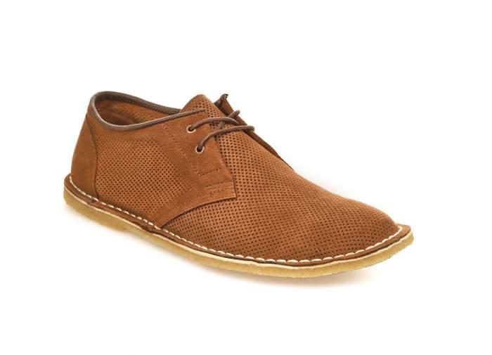 Мужские полуботинки El Tempo CRA47_19155-2, коричневый